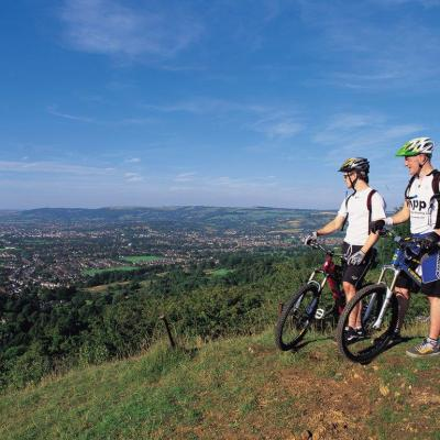 Bikes On Leckhampton Hill